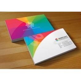 500 Tarjetas de Visita Color